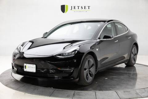 2018 Tesla Model 3 for sale at Jetset Automotive - Electric Cars in Cedar Rapids IA