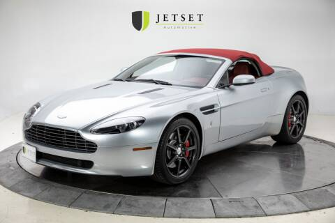 2008 Aston Martin V8 Vantage for sale at Jetset Automotive in Cedar Rapids IA