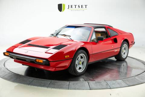 1985 Ferrari 308 GTS Quattrovalve for sale at Jetset Automotive in Cedar Rapids IA