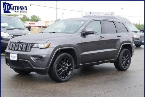 2019 Jeep Grand Cherokee Altitude for sale at Owatonna Motor Company in Owatonna MN