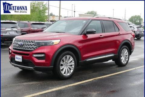 2020 Ford Explorer Limited for sale at Owatonna Motor Company in Owatonna MN