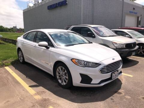 2019 Ford Fusion Hybrid SE for sale at Owatonna Motor Company in Owatonna MN