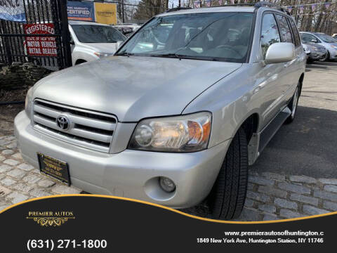 2006 Toyota Highlander for sale at Premier Autos in Huntington NY