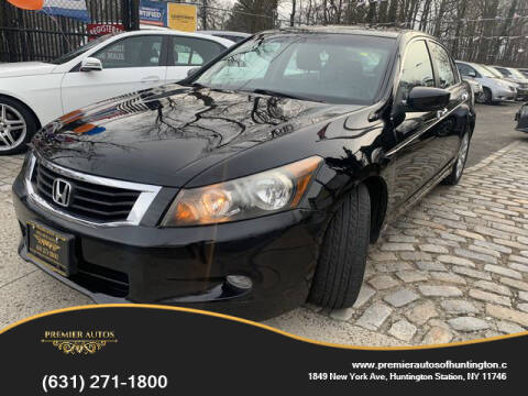 2009 Honda Accord for sale at Premier Autos in Huntington NY