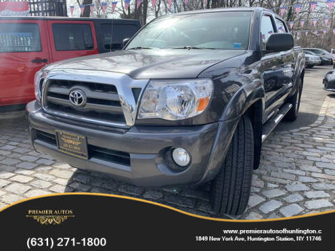 2010 Toyota Tacoma PreRunner V6 for sale at Premier Autos in Huntington NY