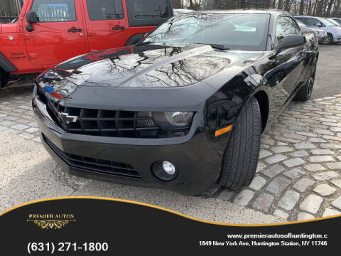 2013 Chevrolet Camaro LT for sale at Premier Autos in Huntington NY
