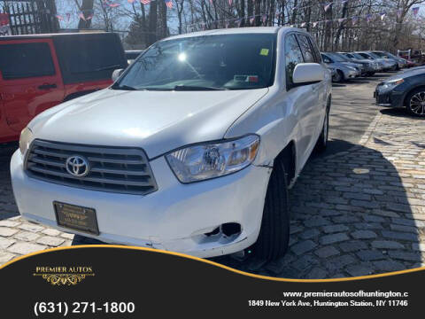 2008 Toyota Highlander for sale at Premier Autos in Huntington NY