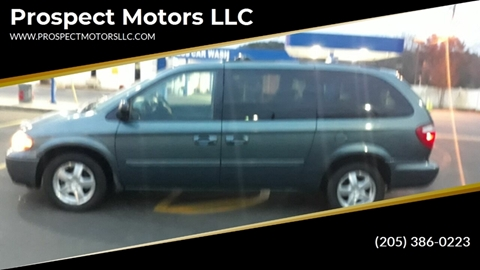 2007 Dodge Grand Caravan SXT for sale at Prospect Motors LLC in Adamsville AL