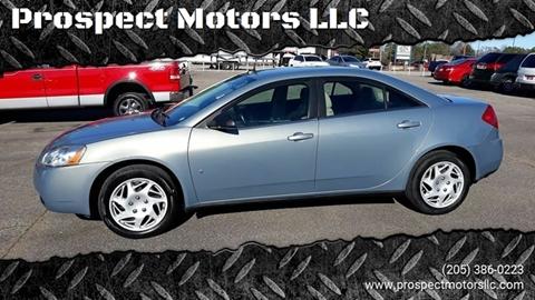 2008 Pontiac G6 for sale at Prospect Motors LLC in Adamsville AL