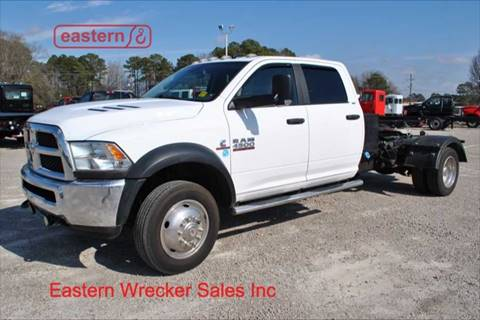 2015 RAM Ram Chassis 4500 for sale at EASTERN WRECKER SALES in Clayton NC