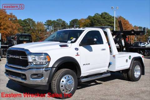 2019 RAM Ram Chassis 4500 for sale at EASTERN WRECKER SALES in Clayton NC
