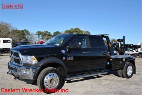 2018 RAM Ram Chassis 5500 for sale at EASTERN WRECKER SALES in Clayton NC