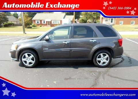 2008 Pontiac Torrent GXP for sale at Automobile Exchange in Roanoke VA