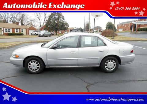 2004 Buick Century Custom for sale at Automobile Exchange in Roanoke VA
