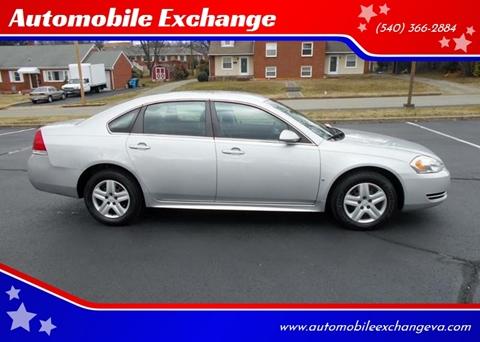 2010 Chevrolet Impala LS for sale at Automobile Exchange in Roanoke VA