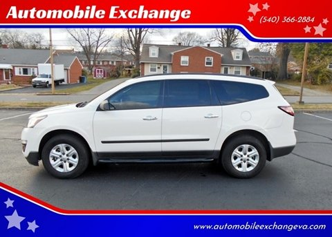 2014 Chevrolet Traverse LS for sale at Automobile Exchange in Roanoke VA