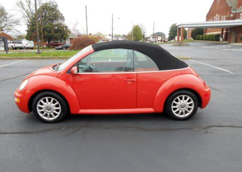 2004 Volkswagen New Beetle Convertible GLS for sale at Automobile Exchange in Roanoke VA