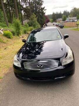 2007 Infiniti G35 x for sale at Road Star Auto Sales in Puyallup WA
