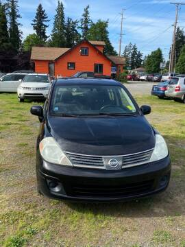 2009 Nissan Versa 1.8 SL for sale at Road Star Auto Sales in Puyallup WA