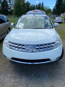 2007 Nissan Murano SL for sale at Road Star Auto Sales in Puyallup WA