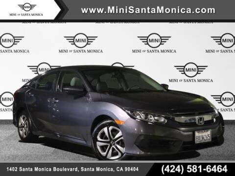 2017 Honda Civic for sale at MINI OF SANTA MONICA in Santa Monica CA
