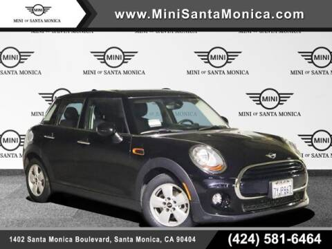 2017 MINI Hardtop 4 Door for sale at MINI OF SANTA MONICA in Santa Monica CA