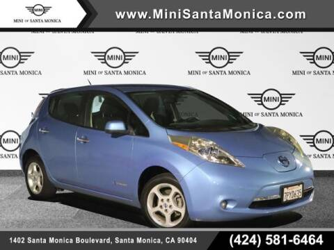 2013 Nissan LEAF for sale at MINI OF SANTA MONICA in Santa Monica CA