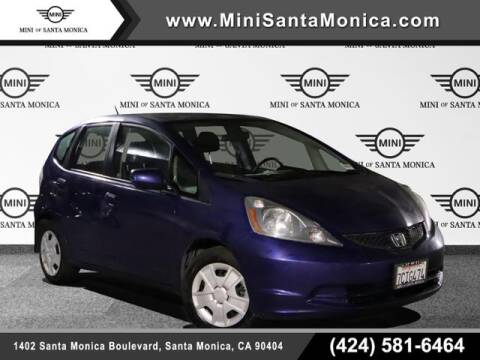 2012 Honda Fit for sale at MINI OF SANTA MONICA in Santa Monica CA