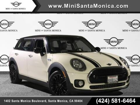 2017 MINI Clubman for sale at MINI OF SANTA MONICA in Santa Monica CA