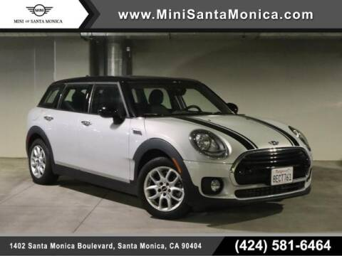 2018 MINI Clubman for sale at MINI OF SANTA MONICA in Santa Monica CA