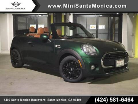 2017 MINI Convertible for sale at MINI OF SANTA MONICA in Santa Monica CA