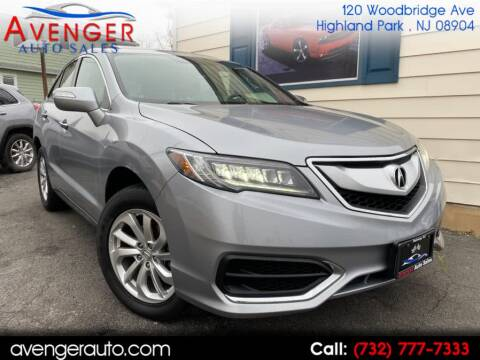 2017 Acura RDX for sale at Avenger Auto Sales in Rahway NJ