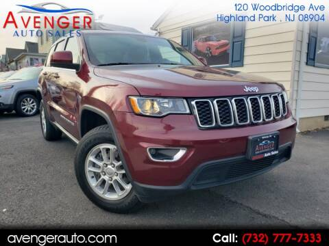 2018 Jeep Grand Cherokee Laredo for sale at Avenger Auto Sales in Rahway NJ