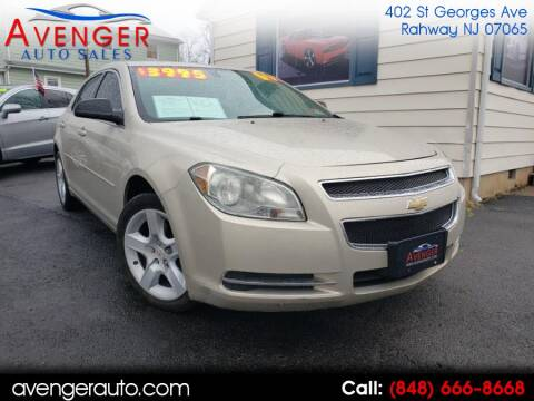2009 Chevrolet Malibu for sale at Avenger Auto Sales in Rahway NJ