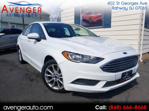 2017 Ford Fusion SE for sale at Avenger Auto Sales in Rahway NJ