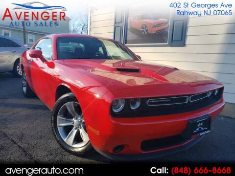 2019 Dodge Challenger SXT for sale at Avenger Auto Sales in Rahway NJ