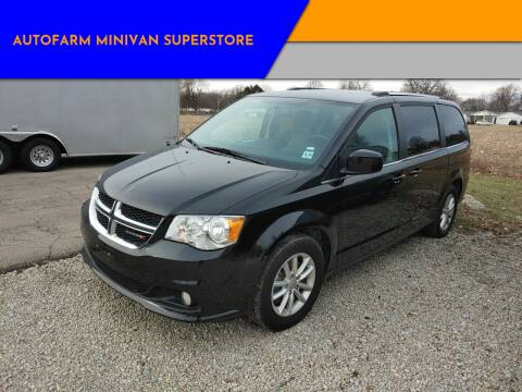 2018 Dodge Grand Caravan SXT for sale at AUTOFARM MINIVAN SUPERSTORE in Middletown IN