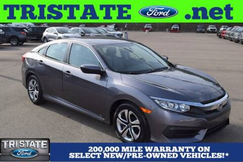 2017 Honda Civic for sale at Tri State Ford in East Liverpool OH