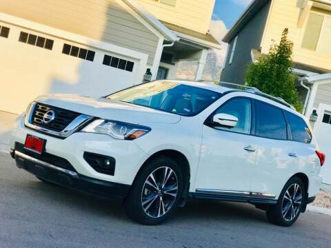 2018 Nissan Pathfinder for sale at Avanesyan Motors in Orem UT