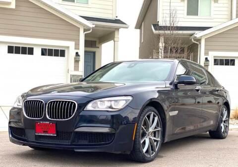 2015 BMW 7 Series for sale at Avanesyan Motors in Orem UT
