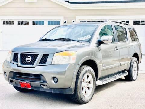 2008 Nissan Armada for sale at Avanesyan Motors in Orem UT