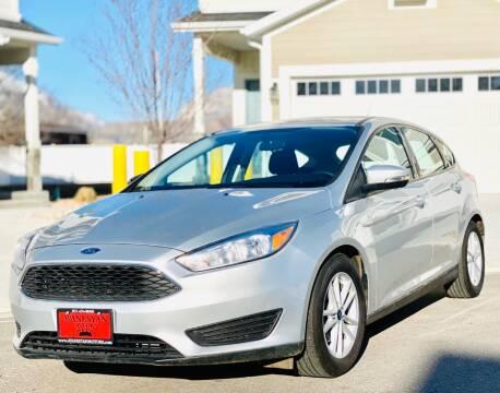 2018 Ford Focus for sale at Avanesyan Motors in Orem UT
