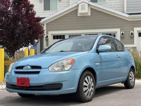 2007 Hyundai Accent for sale at Avanesyan Motors in Orem UT