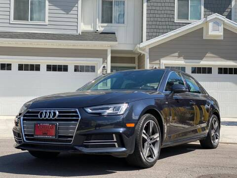 2018 Audi A4 for sale at Avanesyan Motors in Orem UT