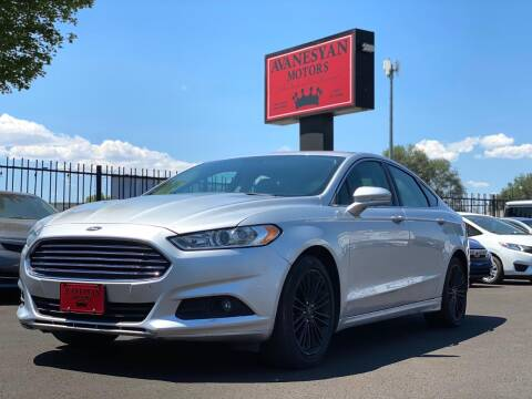 2016 Ford Fusion for sale at Avanesyan Motors in Orem UT