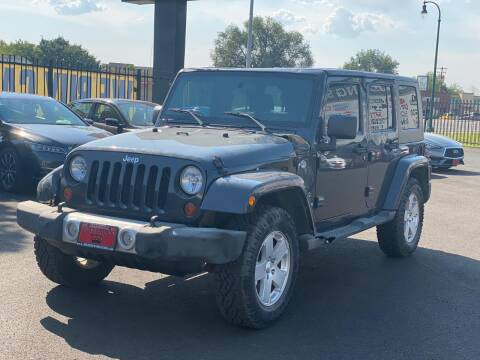 2010 Jeep Wrangler Unlimited for sale at Avanesyan Motors in Orem UT