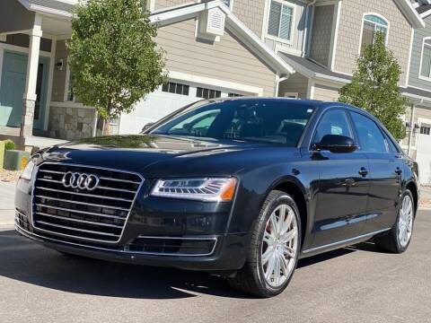 2015 Audi A8 L for sale at Avanesyan Motors in Orem UT