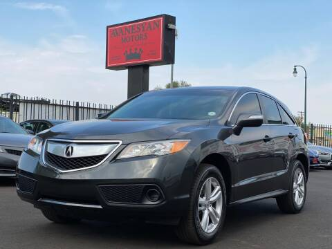 2013 Acura RDX for sale at Avanesyan Motors in Orem UT
