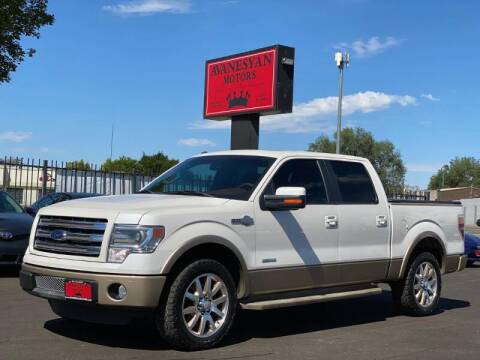 2013 Ford F-150 for sale at Avanesyan Motors in Orem UT