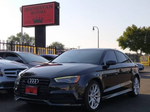 2015 Audi A3 for sale at Avanesyan Motors in Orem UT